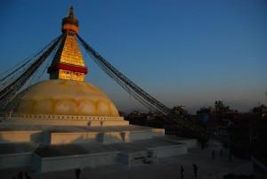 Boudhanath, Buddhist Stupa in Kathmandu